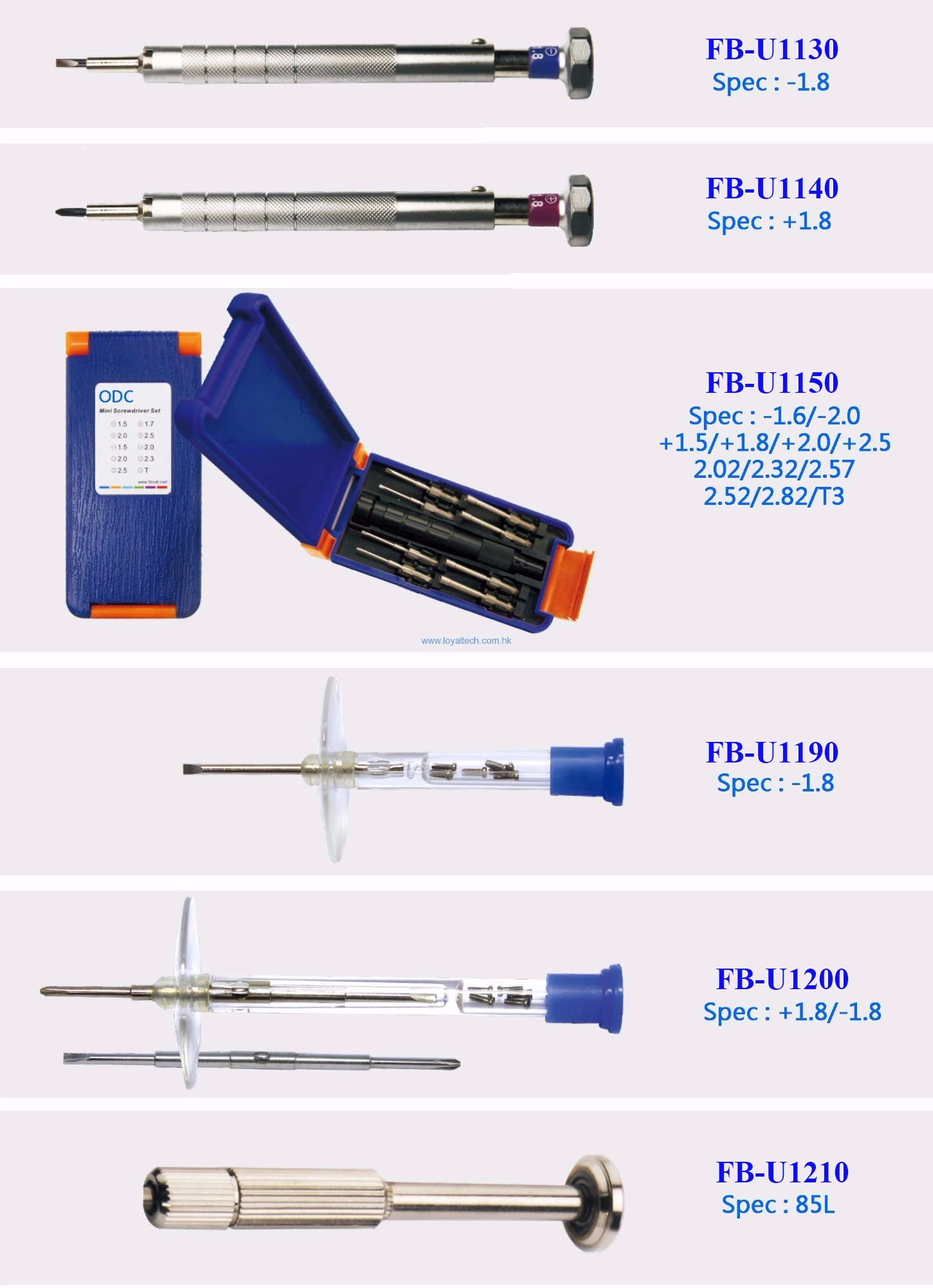 Screw Drivers set